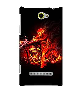 EPICCASE Ghost Rider Mobile Back Case Cover For HTC One Max (Designer Case)