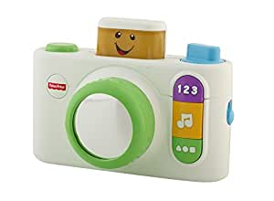 Fisher Price Laugh and Learn Click n Learn Camera Toy, White