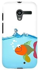 Kasemantra Happy Fish Case For Motorola Moto X