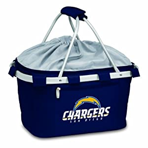 NFL San Diego Chargers Metro Insulated Basket, Navy by Picnic Time