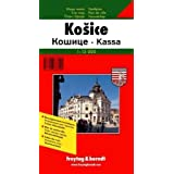 Kosice (Slovakia) 1:15,000 Street Map & Surroundings 1:50,000 Hiking Map