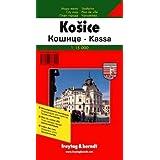Kosice (Slovakia) 1:15,000 Street Map & Surroundings 1:50,000 Hiking Map