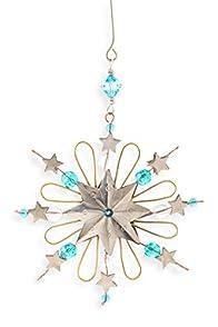 Pilgrim Imports Star Snowflake Fair Trade Ornament
