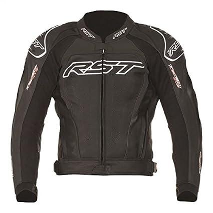 RST tractech iI 1425 flo evo veste de moto en cuir rouge