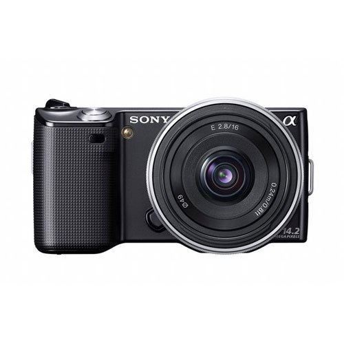 Sony Alpha Nex Nex5A/B Digital Camera With Interchangeable Lens (Black)