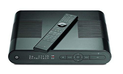 Telekom-MR-303-Media-Receiver-mit-500GB-Festplatte-SCARTHDMI-Kabel-4MB-Flash-Speicher-720p1080i-schwarz