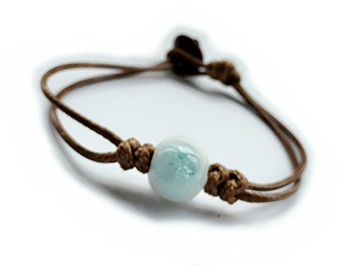 Fashion-Jewelry-Handmade-Women-One-Bead-Design-Porcelain-Ice-Crack-Vintage-Ceramic-Beads-Rope-Bracelet