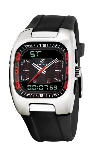 Calypso Men's K5336/7 Black Dial Analog and Digital Watch