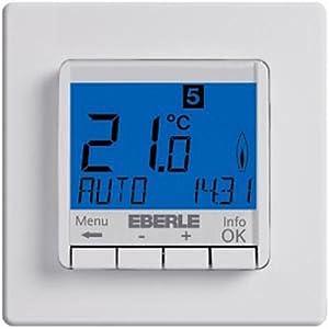 EBERLE Uhrenthermostat Raumregler, FIT 3R ws  BaumarktKundenbewertungen