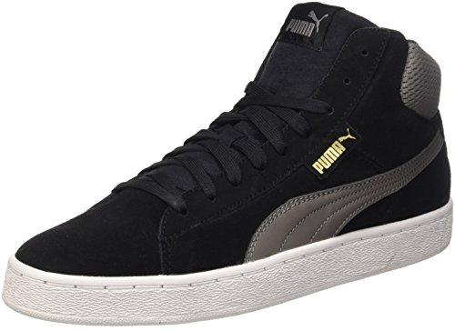 Puma 1948 Mid Sneaker da uomo, colore nero (nero/steel gray), taglia 41 EU (7.5 UK)
