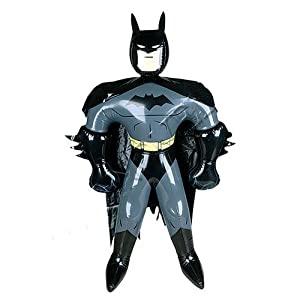 Batman Inflatable Doll Party Decor Favor Supply