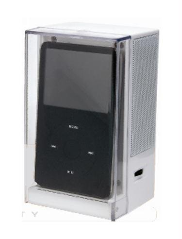 Digicom Portable Cube Speaker System for Ipod