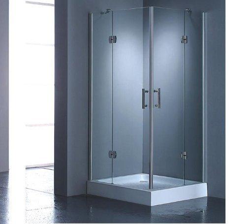 duschkabine duschabtrennung 80x80 nur glas sofort ebay. Black Bedroom Furniture Sets. Home Design Ideas