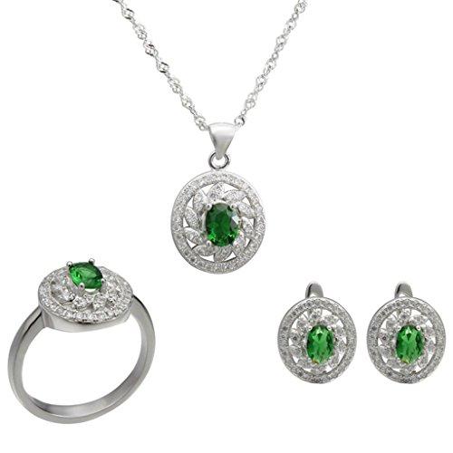 aooaz-sterling-silver-jewelry-set-for-women-oval-cz-flower-green-rings-necklace-earrigns-novelty