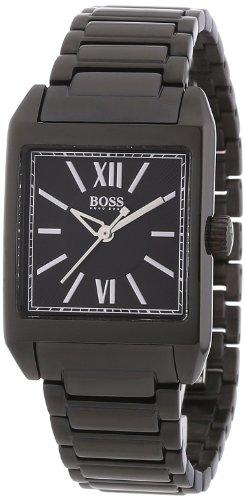Hugo Boss 1502236 - Reloj analógico de mujer de cuarzo con correa de acero inoxidable negra