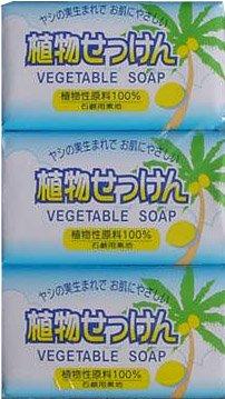 エオリア 植物石鹸 80g×3