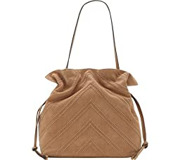 Vince Camuto Nella Hobo Shoulder Bag, Nude, One Size