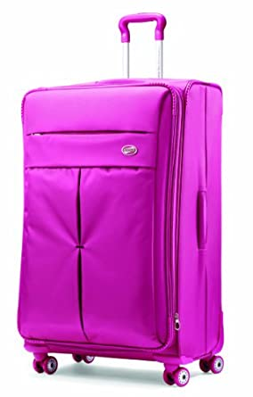 American Tourister Luggage Colora 30-Inch Spinner Bag, Raspberry, 30-Inch