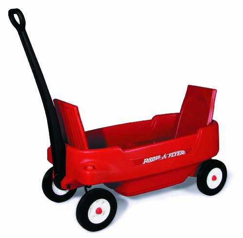 Red Radio Flyer Pathfinder Wagon Cart