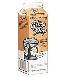 Individual Cartons Caramel Glaze Pop - Popcorn Flavouring - 794 grams