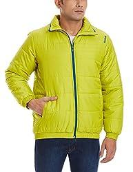 Reebok Men's Track Jacket (4055343446011_AE6605_L_Vital Green )