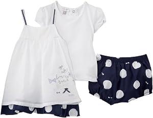 Absorba Robe 3 P - Vestido para niña
