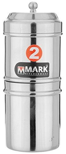 Mark Stainless Steel Filter, Steel, 150 ml, SIECOFQBZ