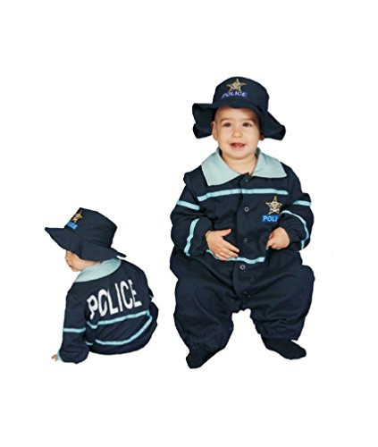 Baby Police Officer Bunting - Infant Costume