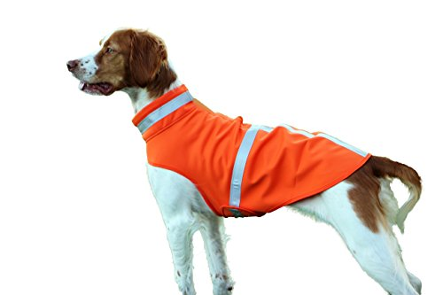 Reflective Dog Vest - 1000 ft visible - Micro fleece waterproof fabric - Hunting vest, Dog Raincoat, Dog Sweater, Dog Fleece Blanket, Night walking. Lightweight, Breathable, Wind Proof (Nox Running Lights compare prices)