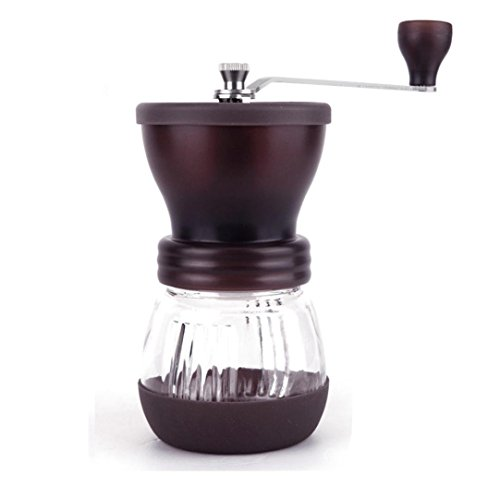 Balakie Manual Coffee Grinder - Ceramic Coffee Mill Burr Coffee Maker - Roasted Coffee Bean Grinder,Enjoying Your Espresso time (Coffee)