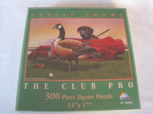The Club Pro 300 pc Jigsaw Puzzle by Philip Crowe - 1