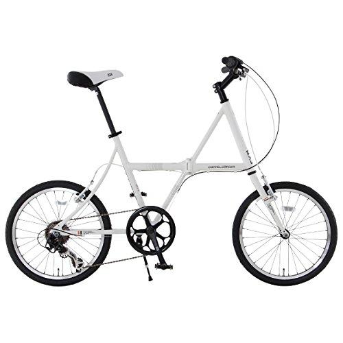 DOPPELGANGER 20インチ フォルダブル・ミニベロロード 軽量アルミフレーム採用折りたたみ自転車 FXシリーズ Licht FX11