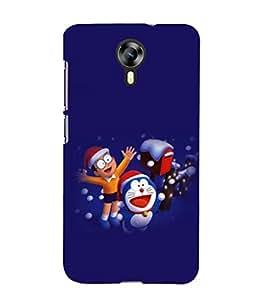printtech Doraemon Back Case Cover for Micromax Canvas Xpress 2 E313