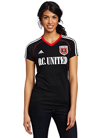 MLS DC United Ladies Replica Home Jersey by adidas
