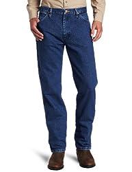 Wrangler Men's Tall Cowboy Cut Original Fit Jean, Stonewashed, 33x38