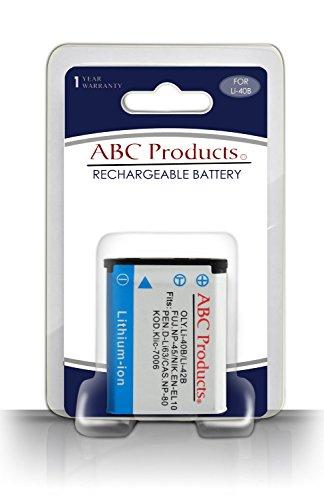 ABC Products® Ersatz Kodak Klic 7006 Akku / Batterie für Easyshare Mini, M22, M23, Mini MD30, MD55, Mini M200, M522, M530, M531, M532, M550, M552, M575, M577 Touch, M580, M583, M750, M873, M883 Zoom, M5350, M5370 Digitalkamera etc
