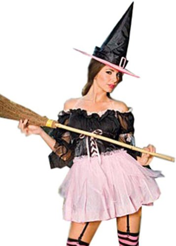 ToBeInStyle Women's Off Shoulder Witch Outfit