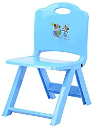 Planet of Toys Plastic Folding Chair (Blue)