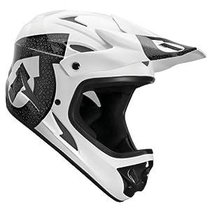 SixSixOne Comp Shifted Helmet (White Black, X-Small) by SixSixOne