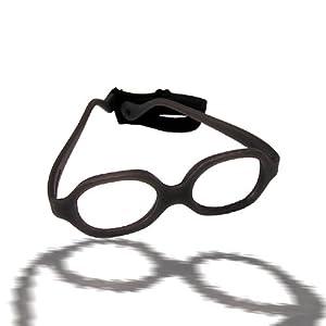 Glasses Frames Creaking : Amazon.com: M1J Mini Baby 33/11 Dark Gray Miraflex Round ...