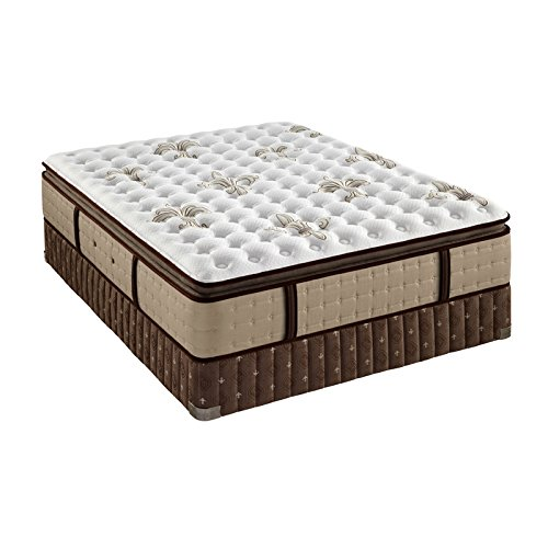 Stearns & Foster Estate Easingwold Luxury Plush Euro Pillowtop King Mattress and Boxspring