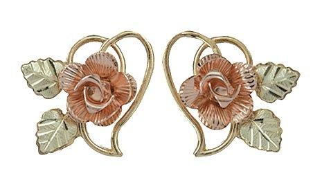 Rose Earrings Amazon 10k Dakota Rose Earrings
