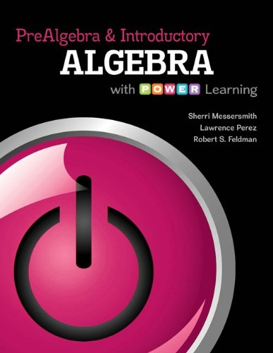 Prealgebra and Introductory Algebra with P.O.W.E.R. Learning with ALEKS 18 Week Access Card