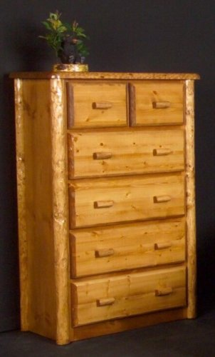 Viking Log Furniture Northwoods 4 Drawer Chest