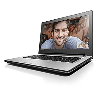 Lenovo Ideapad 300 80Q700ULIN 15.6-inch Laptop (Core i5-6200U/4GB/1TB/DOS/Integrated Graphics), Silver