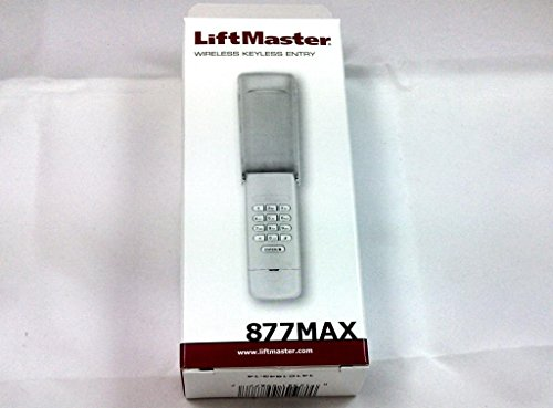 Liftmaster 877max Wireless Garage Door Opener Keyless Entry on sale