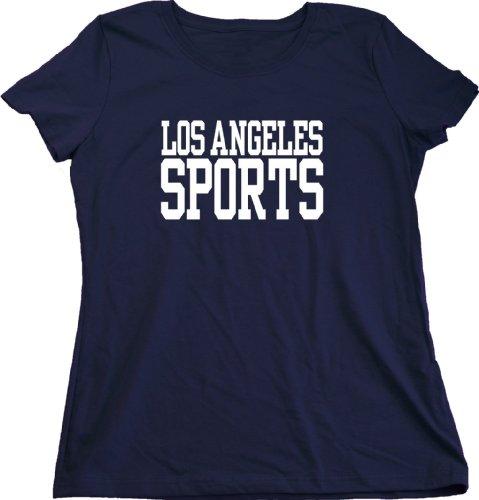 Los Angeles Sports Ladies Cut T-Shirt - Ducks, Lakers, Dodgers, Angels La Fan Small
