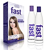 FAST Shampoo and Conditioner NEW SLS Sulfate & PARABEN FREE 300ML SET