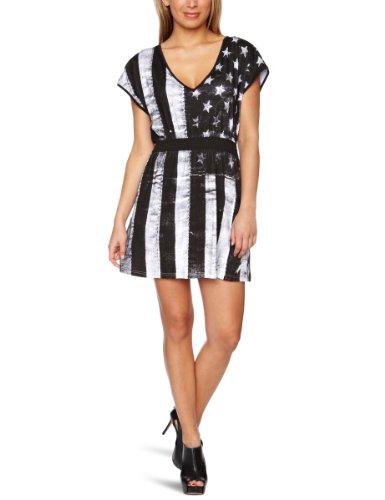 White Flag Knit Dress