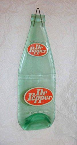 Vintage Dr Pepper Soda Slumped 1 Pint Bottle Spoon Rest